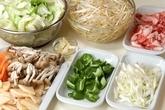あんかけ野菜炒めの下準備1