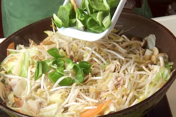 あんかけ野菜炒めの作り方の手順12
