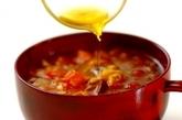 乾物だしの和風カレースープの作り方4
