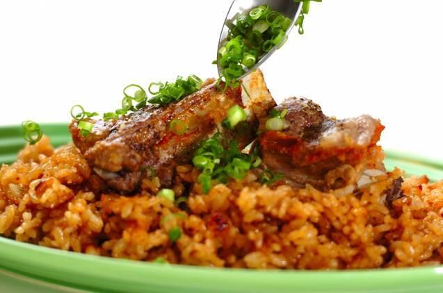 炊き込みスペアリブ飯の作り方の手順4