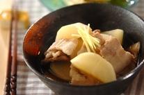 大根と豚バラの煮物