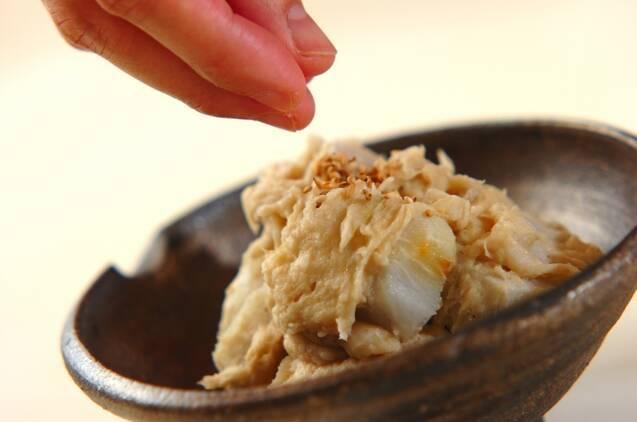 里芋のとも和えの作り方の手順4