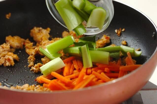 ご飯がすすむ!ピリ辛麻婆春雨の作り方の手順4