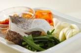 タラのキムチ煮の作り方1