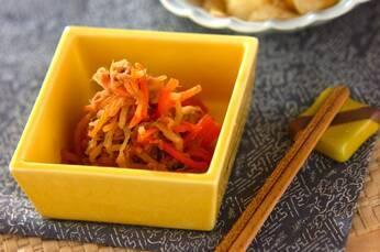 切干し大根とツナの煮物