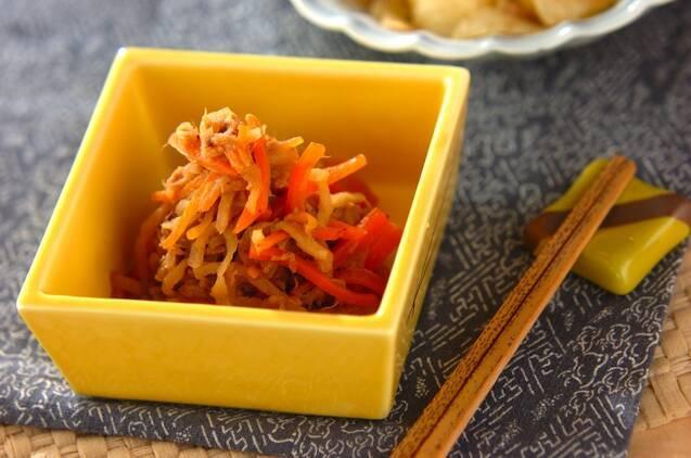 3. 切干大根とツナの煮物