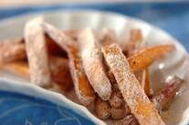 シナモン風味のフライドサツマ