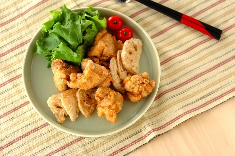 2. ゆず塩の鶏唐揚げ