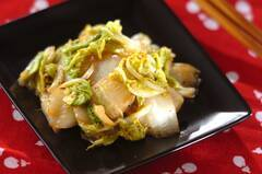 白菜のアンチョビ炒め