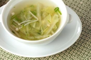 白菜スープ