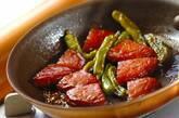 さつま揚げとシシトウの煮物の作り方3