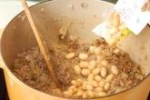 ひき肉のチリコンカンの作り方2