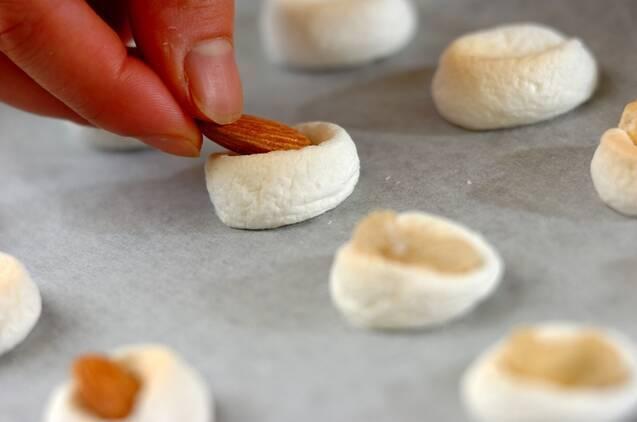 マシュマロクッキーの作り方の手順3