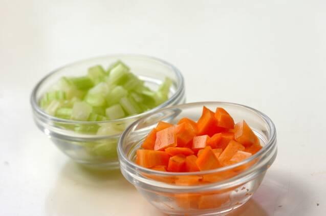 もずくの酸味スープの作り方の手順1