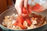 鶏もも肉のトマト煮の作り方2