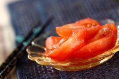 トマトのおろしショウガ和え