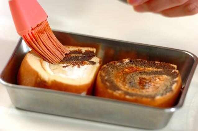 ティラミスロールケーキの作り方の手順1