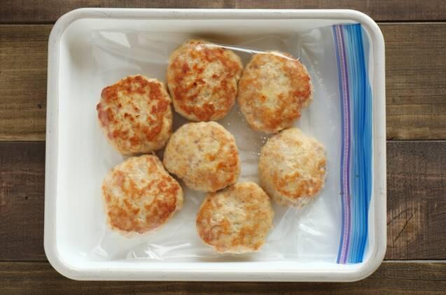 冷凍もできる作り置き!豆腐チキンバーグの作り方の手順6