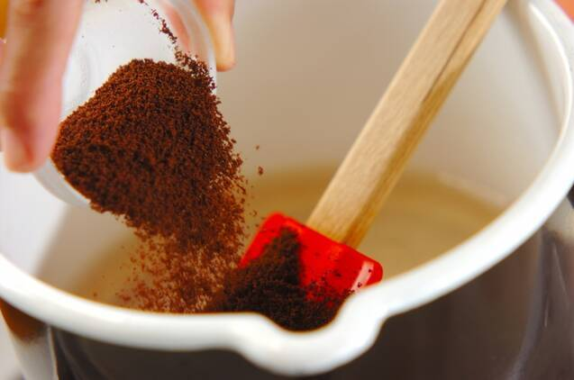 抹茶クリーム添えコーヒーカンの作り方の手順3