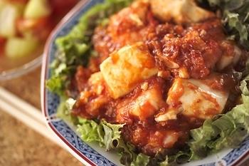 エビ・豆腐のチリソース