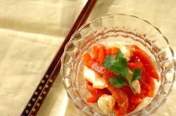 焼きパプリカの甘酢マリネ