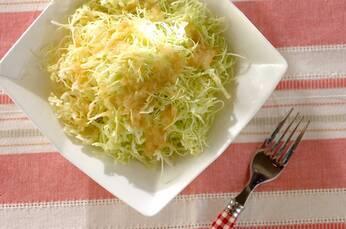 春キャベツのシンプルサラダ