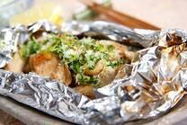 鶏肉のゴマホイル焼き