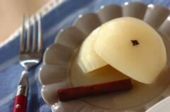梨のハニーワイン煮