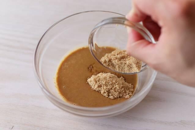 蒸し鶏きゅうりの冷製ごまだれパスタの作り方の手順4