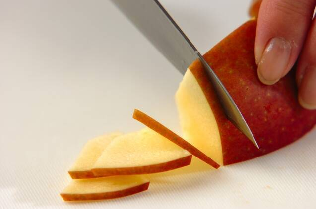 アップルジンジャーティーの作り方の手順1