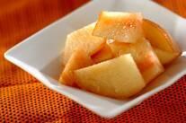 湯むき桃のデザート