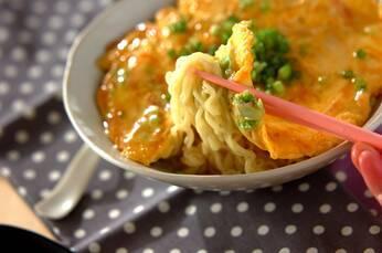 チキンラーメンで天津麺