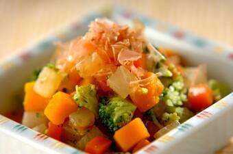 コロコロ野菜のおかかナムル