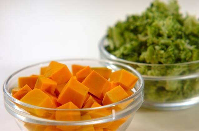 コロコロ野菜のおかかナムルの作り方の手順1