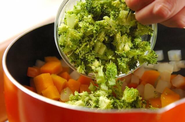 コロコロ野菜のおかかナムルの作り方の手順4
