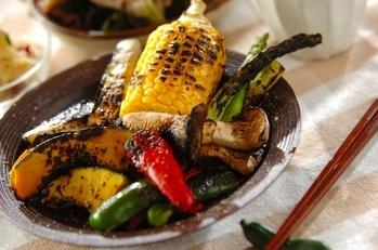 いろいろ網焼き野菜