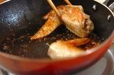 鶏手羽先の甘辛焼きの作り方2