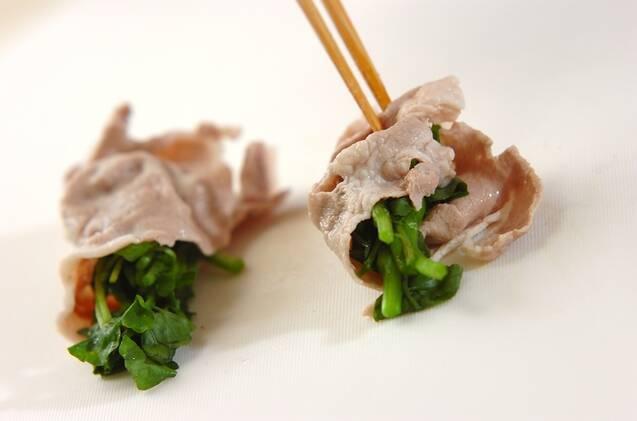 豚肉とクレソンのしゃぶしゃぶの作り方の手順2