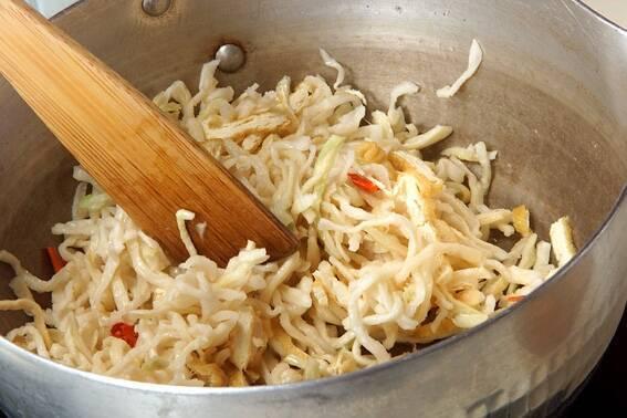 切干し大根の煮物の作り方の手順4