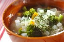 ダイス野菜スープ