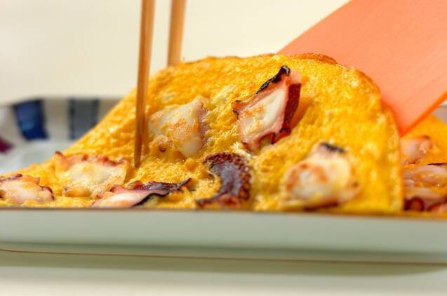明石焼き風卵焼きの作り方の手順5