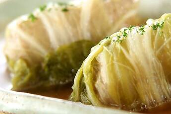 やさしい味のやわらか和風ロール白菜