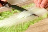 和風ロール白菜の下準備1