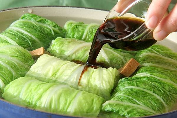やさしい味のやわらか和風ロール白菜の作り方の手順4