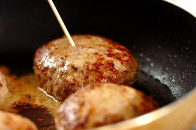 アボカドのせハンバーグの作り方の手順6