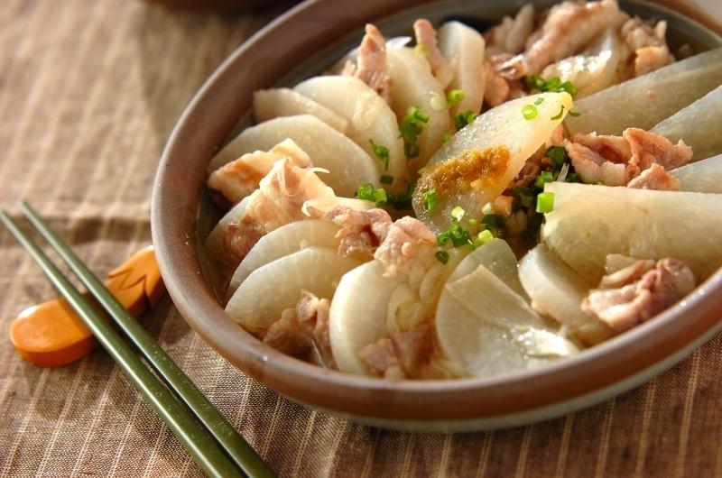 豚大根の蒸し煮 柚子胡椒風味