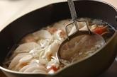 豚大根の蒸し煮ユズコショウ風味の作り方2