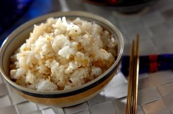 炒めジャコの混ぜご飯