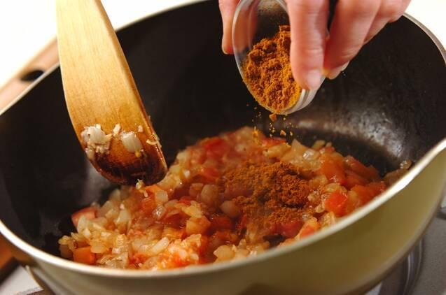 キーマカレーの作り方の手順5
