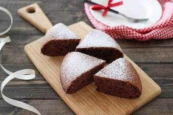 ホットケーキミックスで簡単♪ココア炊飯器ケーキ
